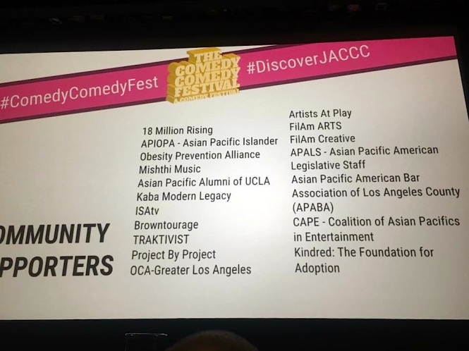 Listed ComedyComedyFest