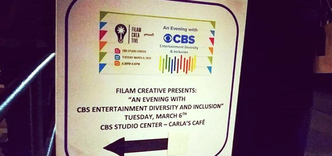 CBS sign