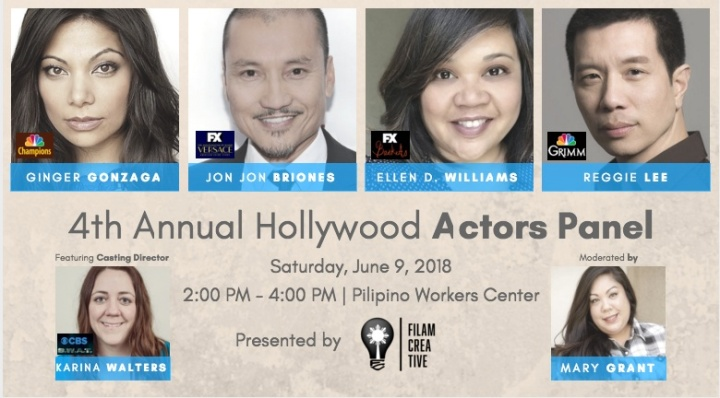 FINAL 4th Actors Panel Ad